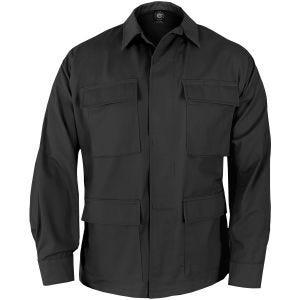 Chaqueta de uniforme de Ripstop de polialgodón Propper BDU en negro