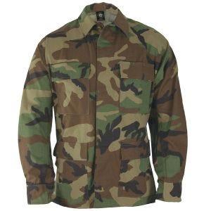 Chaqueta de uniforme de Ripstop de polialgodón Propper BDU en Woodland