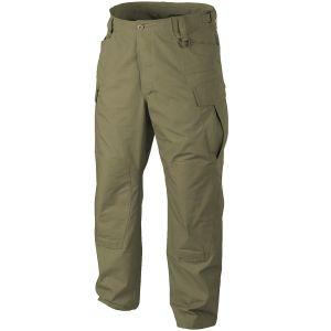 Pantalones Helikon SFU NEXT de Ripstop de polialgodón en Adaptive Green