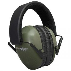 Orejeras acústicas SpyPoint EM-24 en verde