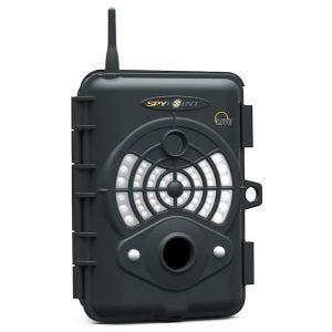 Cámara infrarroja digital de vigilancia SpyPoint Live GSM compatible con teléfono móvil en negro