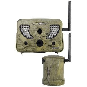 Cámara infrarroja digital de caza SpyPoint Live SpyPoint TINY-W2s en Camo