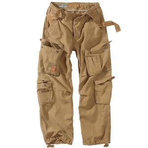 Pantalones Surplus Airborne Vintage en Coyote