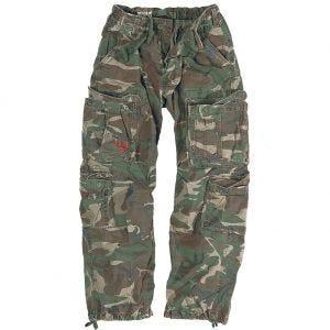 Pantalones Surplus Airborne Vintage en Woodland