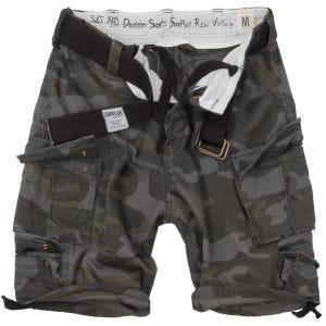 Pantalones cortos Surplus Division en Black Camo