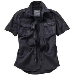 Camisa de manga corta Surplus Raw Vintage en negro