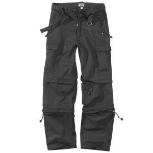 Pantalones de senderismo Surplus en negro