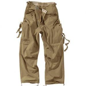 Pantalones de trabajo Surplus Vintage en Coyote