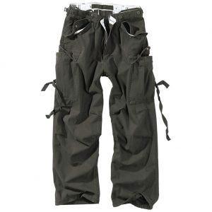 Pantalones de trabajo Surplus Vintage en negro