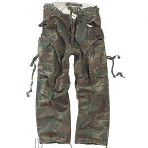 Pantalones de trabajo Surplus Vintage en Woodland