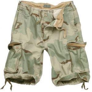 Pantalones cortos Surplus Vintage lavados a la piedra en Desert 3 Colores