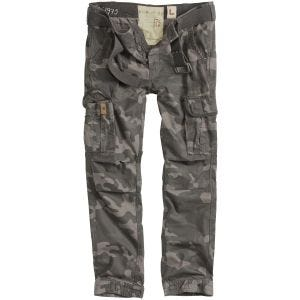 Pantalones Surplus Premium Slimmy en Black Camo
