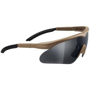 Gafas Swiss Eye Raptor con montura en Coyote