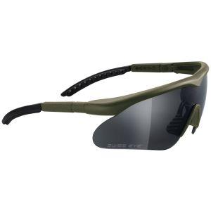 Gafas Swiss Eye Raptor con montura en verde oliva