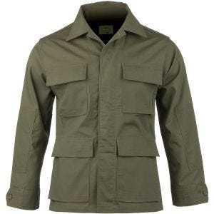 Camisa Teesar BDU de Ripstop en verde oliva