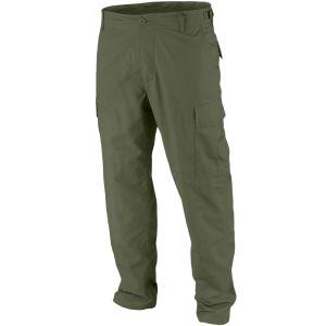 Pantalones Teesar BDU de Ripstop en verde oliva