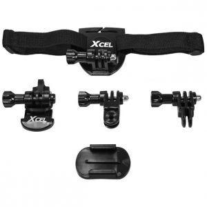 Kit para casco Xcel en negro
