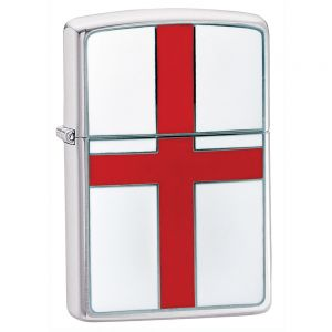 Mechero con la bandera de Inglaterra Zippo