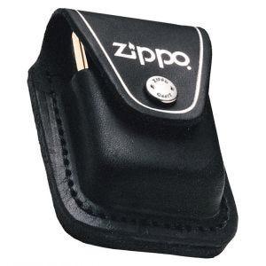 Funda para mechero con trabilla Zippo en negro